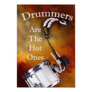 Drum Percussion Card or Invitation You add Text