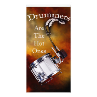 Drum Percussion Card or Invitation You add Text Photo Card
