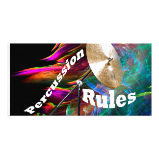 Drum Percussion Card or Invitation YOUR TEXT
