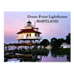 Drum Point Lighthouse, Maryland Postcard