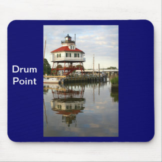 (Drum Point Lighthouse Mouse Pad