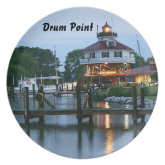 Drum Point Lighthouse Plate