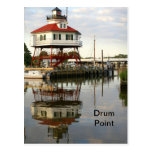 (Drum Point Lighthouse Post Card