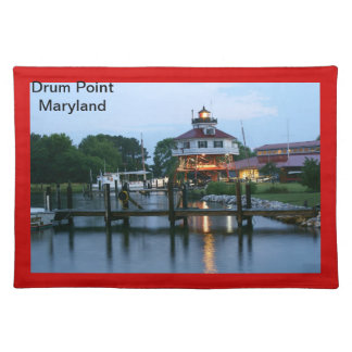 Drum Point Maryland Cloth Placemat
