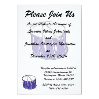 drum purple handdrawn look.png 5x7 paper invitation card