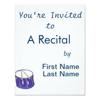 drum purple handdrawn look.png 4.25x5.5 paper invitation card