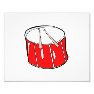 drum red  handdrawn look.png photo print