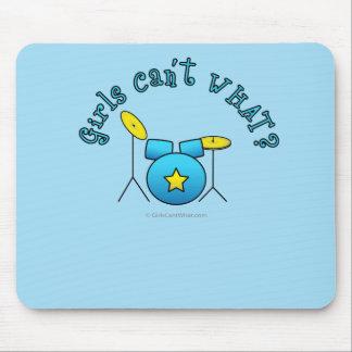Drum Set - Blue Mouse Pad