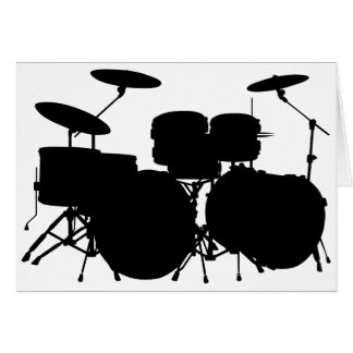 Drum Set Card