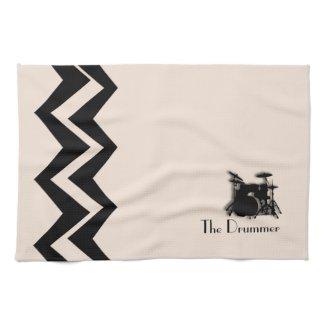 Drum Set Custom Art-Deco Custom Towels