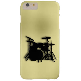 Drum Set Gold Barely There iPhone 6 Plus Case