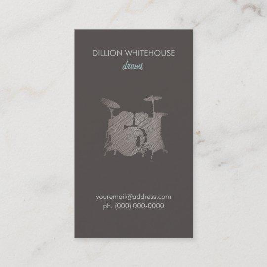 Drum set groupon business card zazzle drum set groupon business card colourmoves