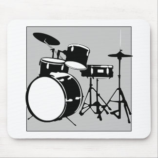 drum set mouse pad