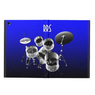 Drum Set Personalized Monogram Gift iPad Air Cover