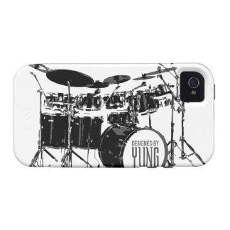 Drum Set Phone Case iPhone 4/4S Cover