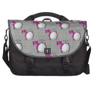 Drum Set Pink Drums Commuter Bags