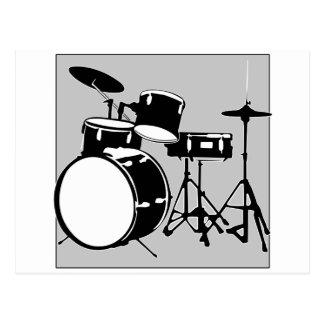 drum set postcard