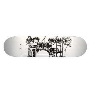 Drum Set Skateboard