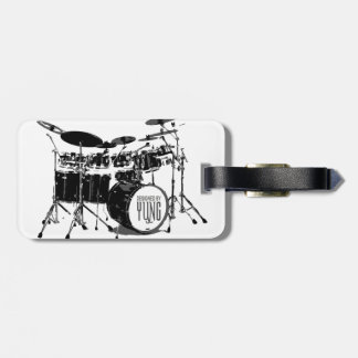 Drum Set Tags For Luggage