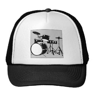 drum set trucker hat