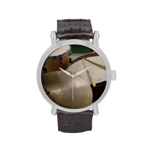 Drum Set Wristwatch