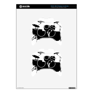 Drum Set Xbox 360 Controller Decal