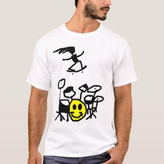 Drum, Skate, Smile T-Shirt