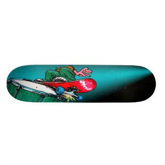 Drum Skateboard Deck