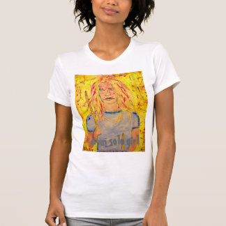 drum solo girl T-Shirt