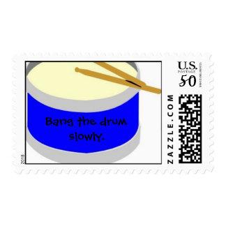 drum stamp