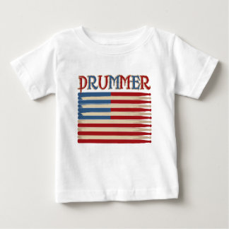 Drum Stick USA Flag Drummer Tees and Gifts