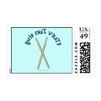 Drum Sticks Postage Stamp