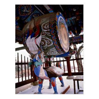 Drum (temple) postcard