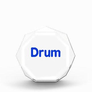 drum text blue music design award