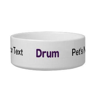 drum text purple music design bowl