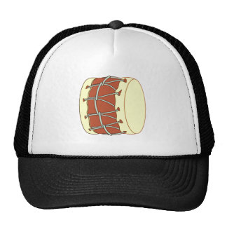 Drum therefore trucker hats