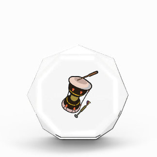 drum two headed hand drum dark turned.png acrylic award