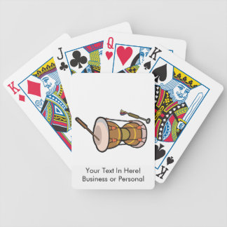drum two headed hand drum.png bicycle playing cards