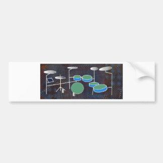 Drum World Bumper Sticker