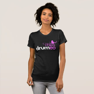 Drumeo Women On The Edge Shirt - Pink