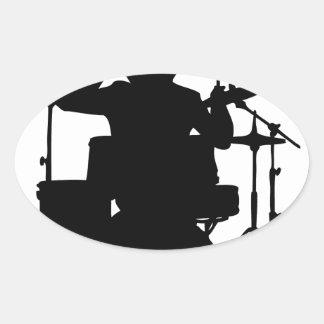 drumer.png oval sticker
