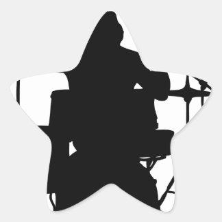 drumer.png calcomania forma de estrella personalizada