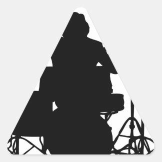 drumer.png triangle sticker