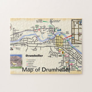 Drumheller Map Puzzles