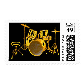 Drumkit - Yellow Postage Stamps