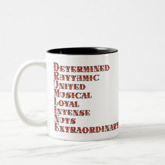 Drumline Definition Two-Tone Coffee Mug
