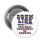 Drumline Heart Beat 2 Inch Round Button