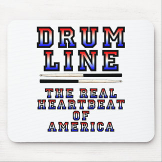 Drumline Heart Beat Mouse Pad