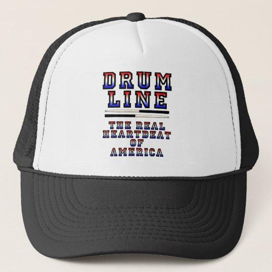 Drumline Heart Beat Trucker Hat
