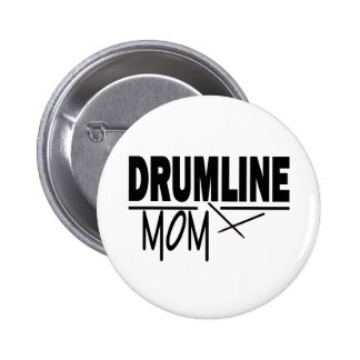 Drumline Mom Button